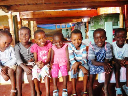 new small kids at Ngaremara