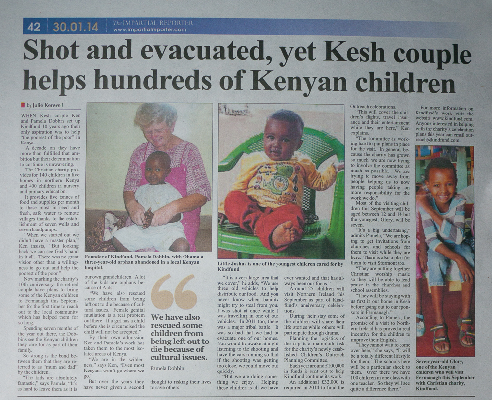 impartial reporter kindfund article january 2014