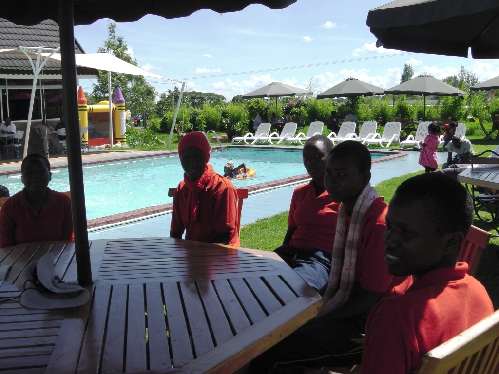 Lunch at Nyeri four star hotel