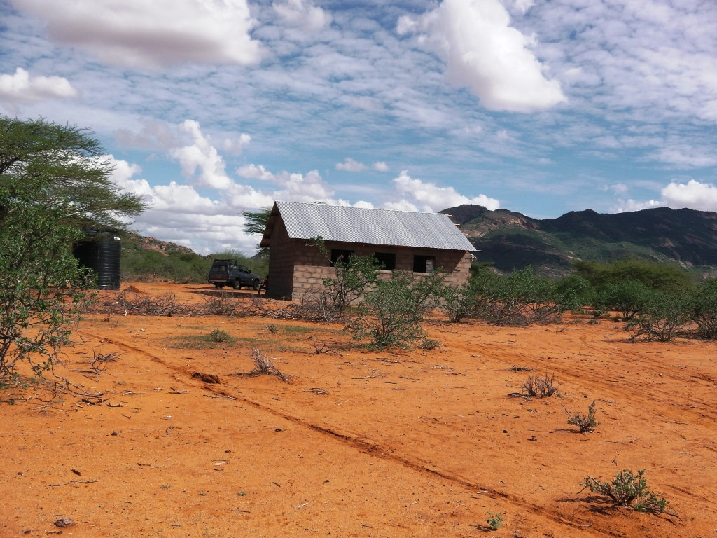 Classroom in the desert