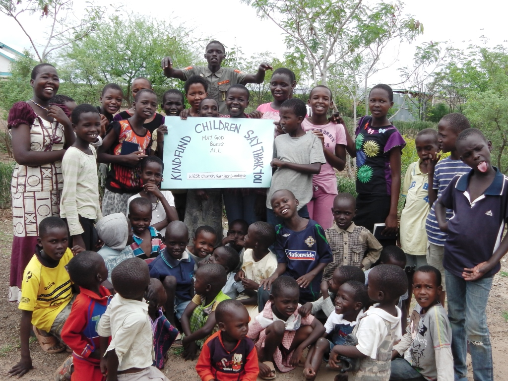 thanks from kindfund to west church, bangor sunday school