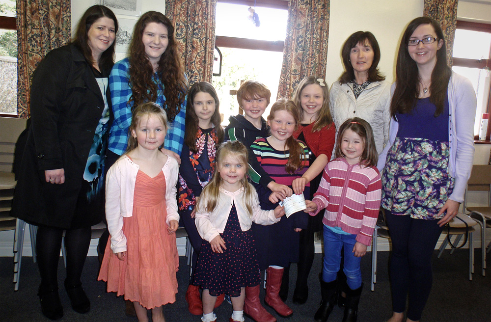Children of St Patrick's Church of Ireland Sunday School, Templepatrick
