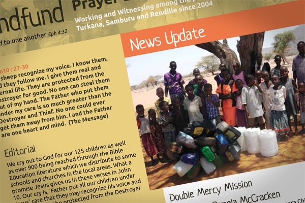 Kindfund Prayer Letter May 2015