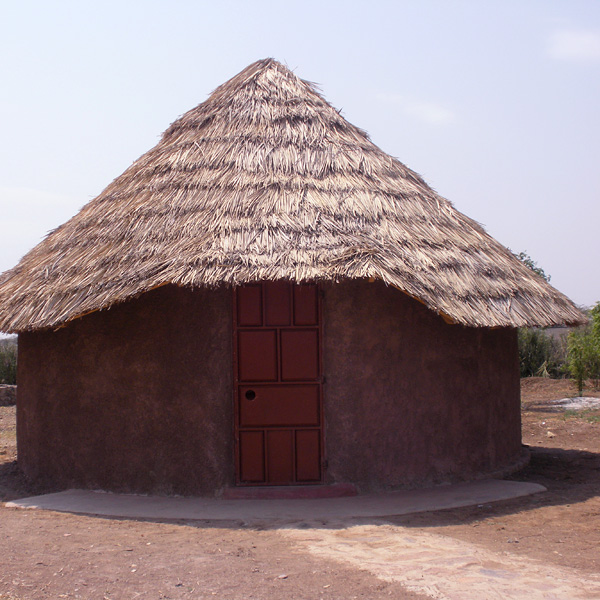 dormitory hut at ngaremara