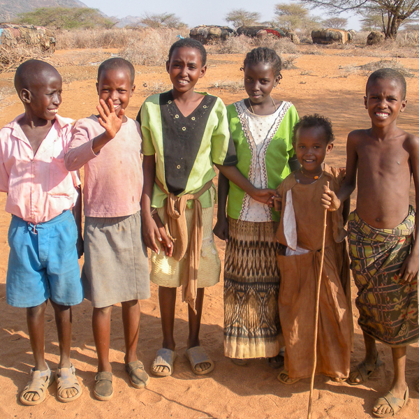 children at ndikir