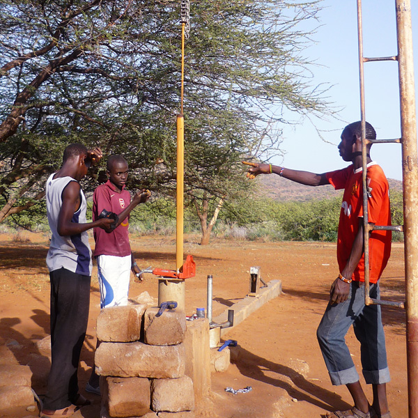 drilling a borehole in kenya
