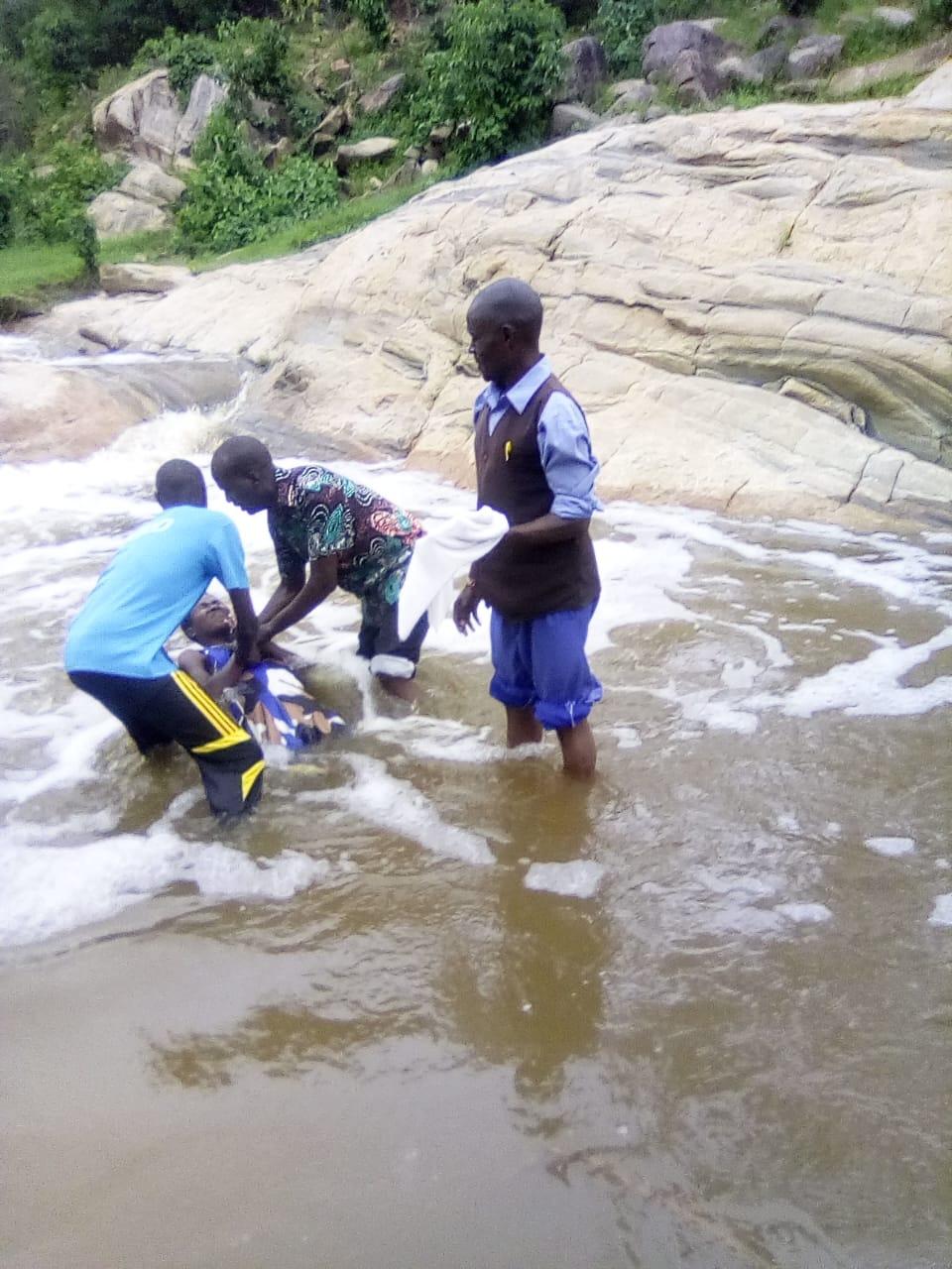Wamba baptism