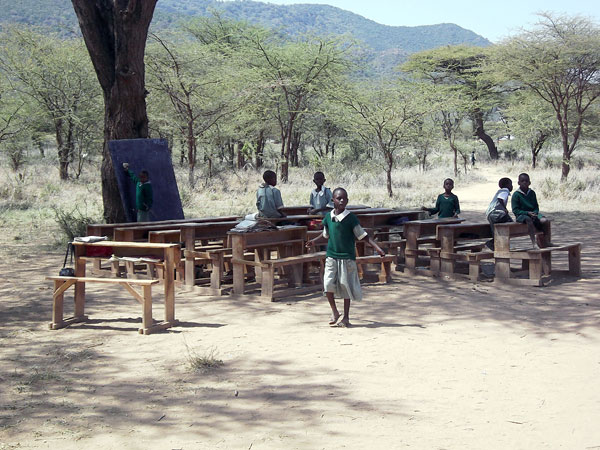 several schools in northern kenya are supported by kindfund